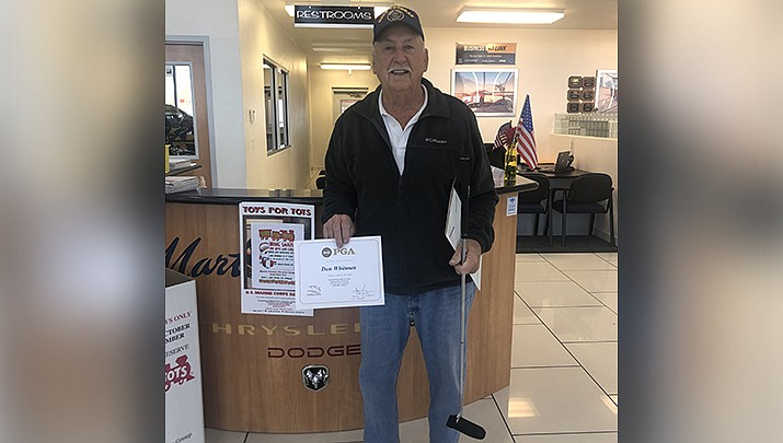 Don Whitman won a putter from Martin Swanty Chrysler Dodge Jeep Ram. (Courtesy photo)