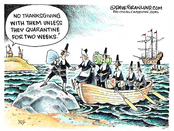 Editorial cartoon (1): Nov. 18, 2020
