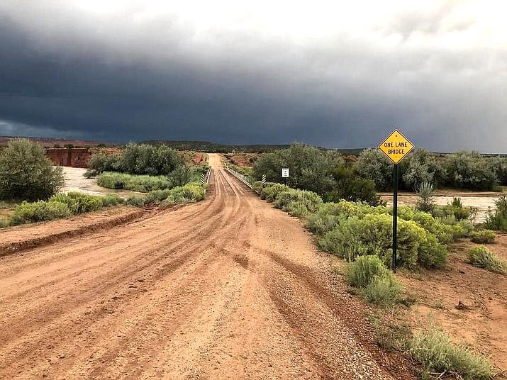 Construction on the N9402 bridge near Lupton, Arizona, will begin in mid November. (Photo/NDOT)