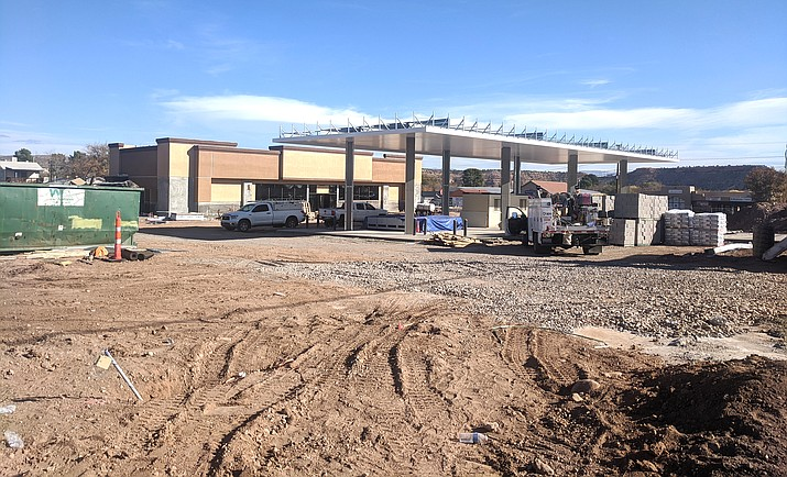Offsite improvement work for the new Cottonwood Circle K development will take place Monday through Friday between the hours of 6 a.m. to 7 p.m.  Work is expected to take several weeks to complete. VVN/Dan Engler