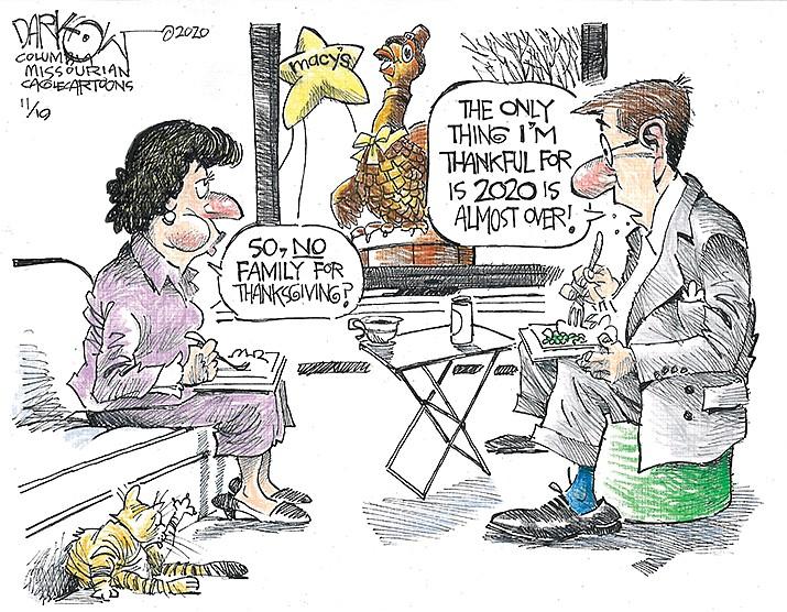 Editorial Cartoon   Nov. 20, 2020