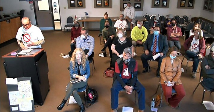 Opponents and supporters of a wildlife center in Cornville showed up for a hearing on Wednesday during which the facility was denied a Use Permit. VVN/Vyto Starinskas