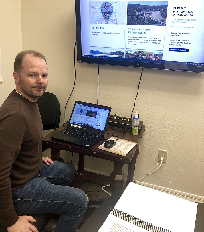Long-time Central Yavapai Metropolitan Planning Organization (CYMPO) Administrator Chris Bridges is leaving the position, as of Dec. 2, to take on a job with the Town of Gilbert. Bridges has served as CYMPO's administrator since 2010. (Cindy Barks/Courier)