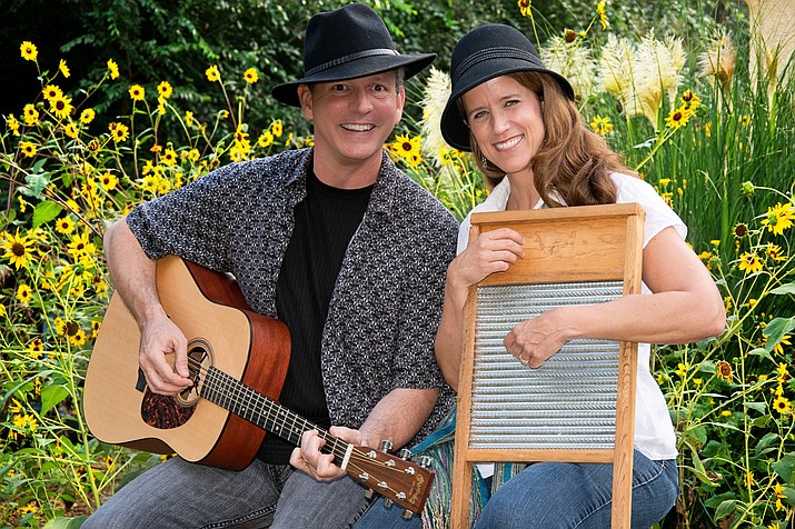 The Folk Sessions' holiday concert, which will be at the Highlands Center for Natural History on Sunday, Nov. 29, 2020, will include musical guests Henry and Maria Flurry of Sticks and Tones fame, among others. (Courtesy)