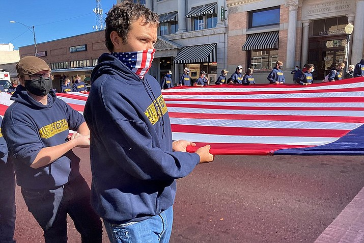 Out of 83 entries, eight winners have been announced for the Nov. 11 Prescott Veterans Day parade.