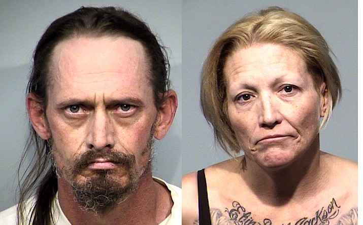 Troy Hockett and Melinda Ezell. Photos courtesy YCSO
