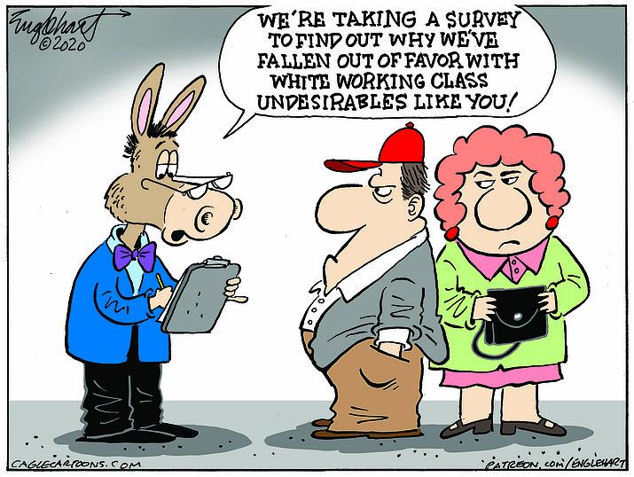 Editorial cartoon (2): Nov. 22, 2020