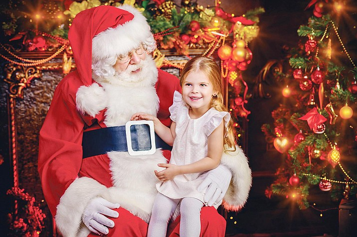 Saturday, Dec. 5, the city of Sedona Parks and Recreation Department will host Santa Claus as he visits Sedona.