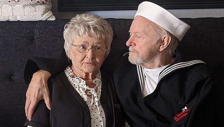 Linda Dodson Vinney and John Vinney of Kingman. (Courtesy)