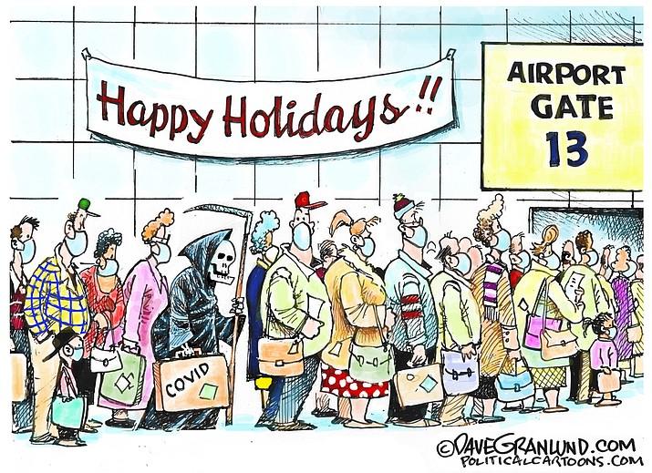 Editorial cartoon (2): Nov. 25, 2020