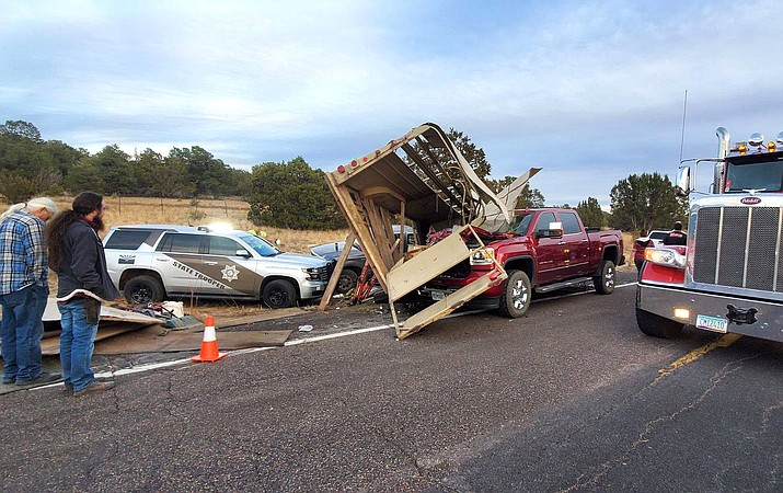 A carriage horse was put down after a collision between two vehicles on State Route 64 Nov. 22. (Photo/Grand Canyon Carriage Works)