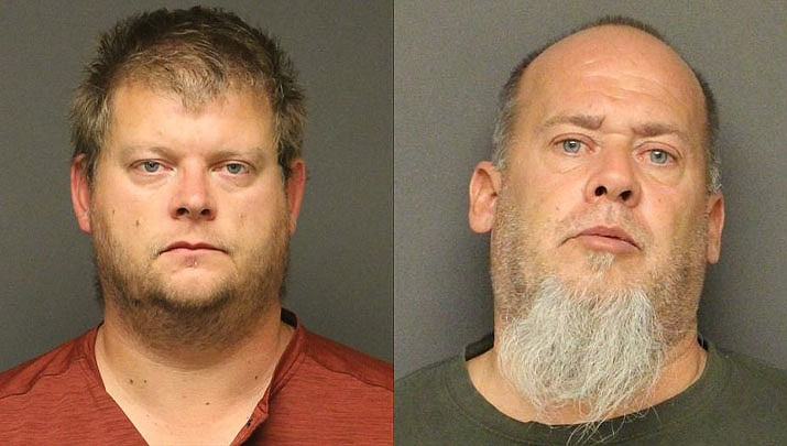 Joshua Paul Stone and Christopher Albert Eash (MCSO photo)