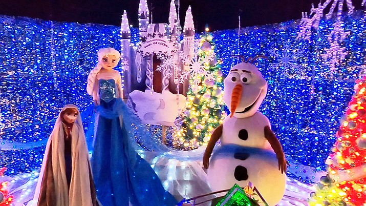 Enchanted Christmas Indoor Tour of Lights at Gateway Mall in Prescott, opens on Friday, Nov. 27, 2020. (Jesse Bertel/Courier)