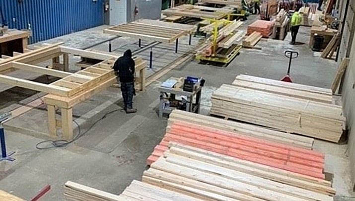 Colt Builders, a company that manufactures wood framing for multi-family housing, will be opening a plant in the Kingman Industrial Park. (Courtesy photo)
