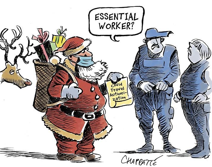 Editorial cartoon (1) Nov. 28, 2020