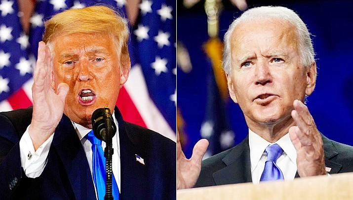 Arizona certified Joe Biden's narrow win over Donald Trump in Arizona Monday, Nov. 30, 2020. (AP file photo)