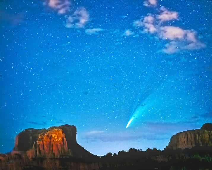 As part of its ongoing series of art exhibits, Canyon Mesa Country Club in the Village of Oak Creek is currently displaying a collection of notable works by award-winning Sedona photographer Jim Peterson.