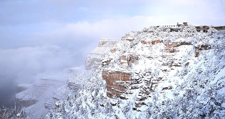 Grand Canyon National Park has closed some roads and facilities in response to the winter season and increase in coronavirus cases. (Photo/Grand Canyon National Park)