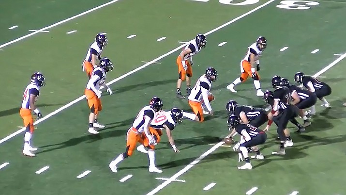 The Vikings returned to the 1A State Championship game in Scottsdale Nov. 28 to face Mogollon. The Vikings lost 38-30. (NFHS network image)