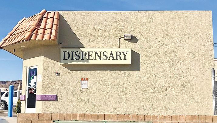 Hana Meds, 2095 E. Northern Ave., is a medical marijuana dispensary in Kingman. (Photo by Agata Popeda/Kingman Miner)