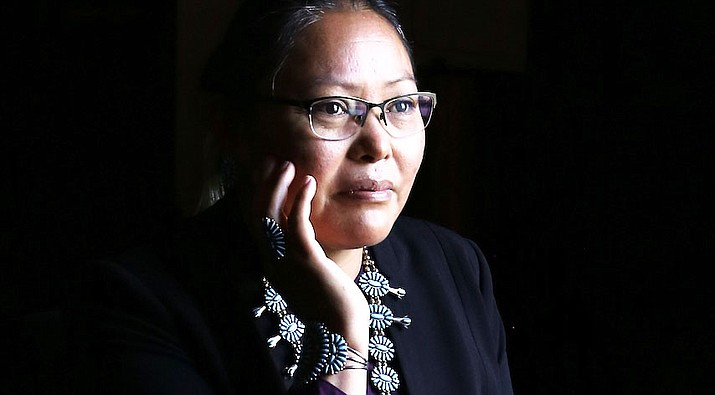 Navajo Nation Department of Health Executive Director Dr. Jill Jim  was appointed to the Biden-Harris COVID-19 Advisory Board Nov. 28.  (Photo/OPVP)