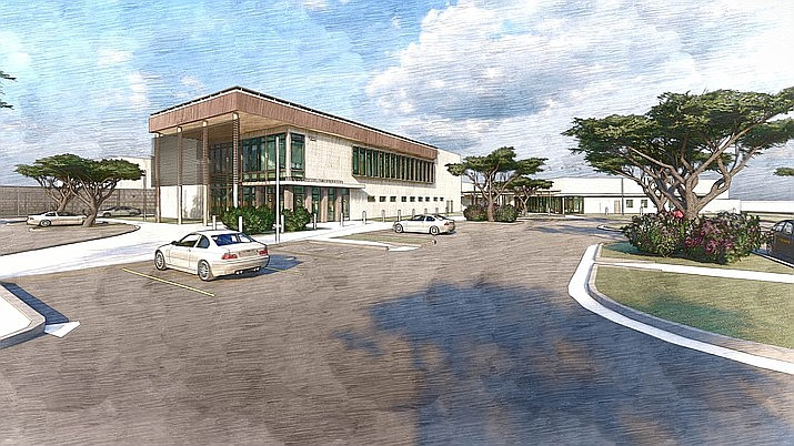 An artist's rendering of what the new Yavapai County Criminal Justice Center in Prescott could look like when complete. (Yavapai County/Courtesy)