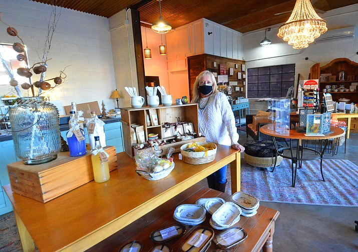 Teri Von Gausig has opened a new gift shop in Old Town called Bananas in Old Town. VVN/Vyto Starinskas