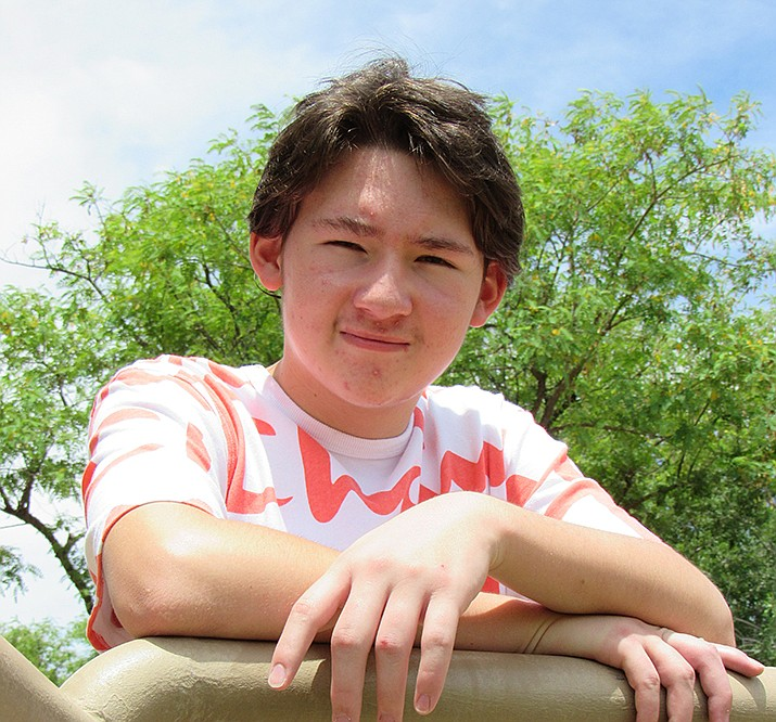 Get to know Alexander at https://www.childrensheartgallery.org/profile/alexander-O and other adoptable children at childrensheartgallery.org. (Arizona Department of Child Safety)