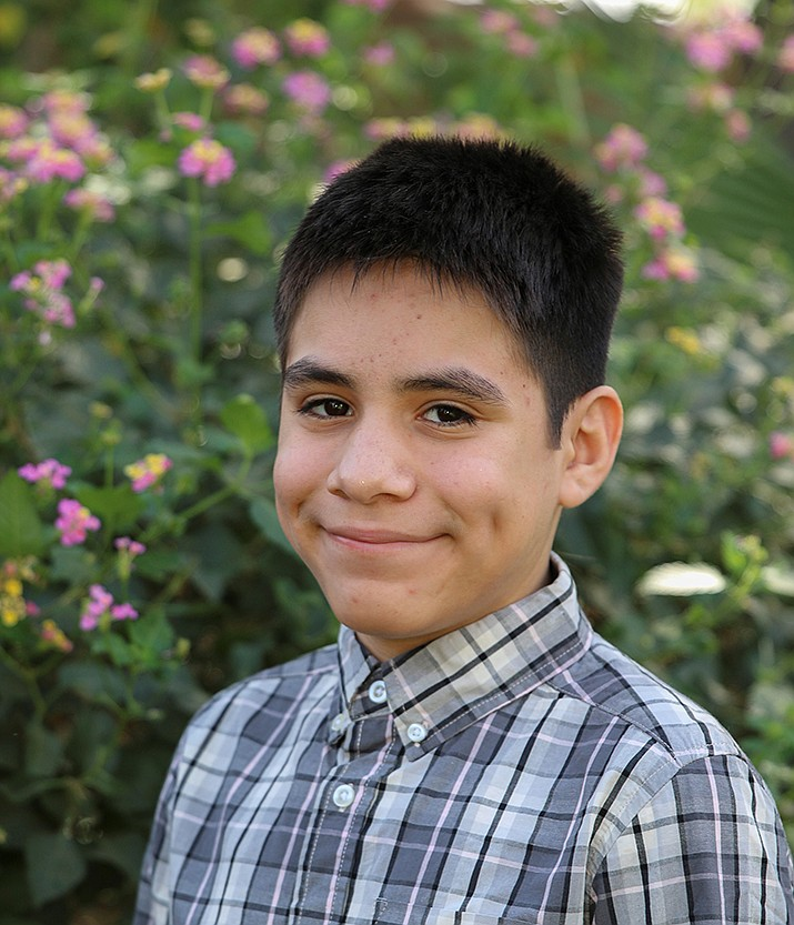 Get to know Angel at https://www.childrensheartgallery.org/profile/angel-g and other adoptable children at childrensheartgallery.org. (Arizona Department of Child Safety)