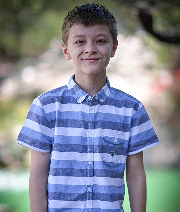 Get to know Jaiden at https://www.childrensheartgallery.org/profile/jaiden and other adoptable children at childrensheartgallery.org. (Arizona Department of Child Safety)