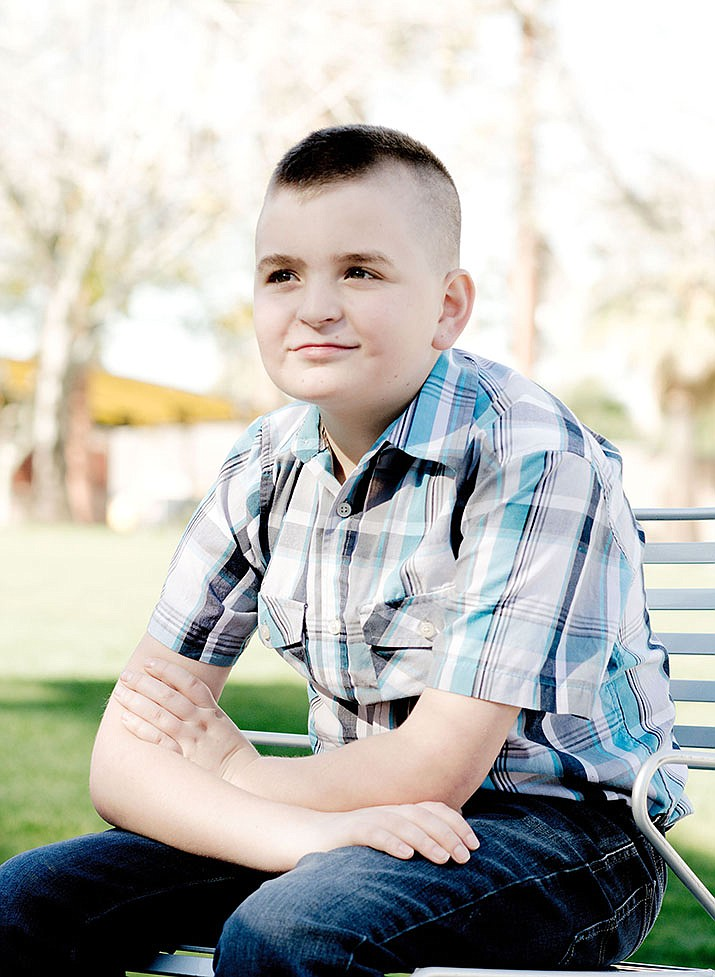 Get to know Samuel at https://www.childrensheartgallery.org/profile/samuel and other adoptable children at childrensheartgallery.org. (Arizona Department of Child Safety)