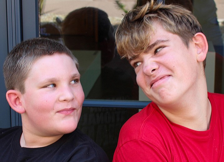 Get to know Alex and Sean at https://www.childrensheartgallery.org/profile/alex-and-sean and other adoptable children at childrensheartgallery.org. (Arizona Department of Child Safety)