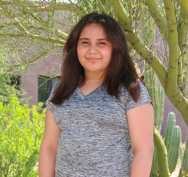 Get to know Kasumy at https://www.childrensheartgallery.org/profile/kasumy and other adoptable children at childrensheartgallery.org. (Arizona Department of Child Safety)
