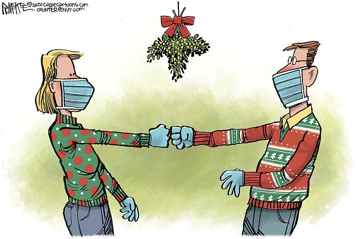 Editorial cartoon (1): Dec. 8, 2020