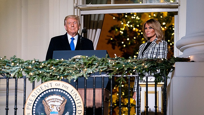 """U.S. President Donald Trump, at a summit feting the Operation Warp Speed team that helped spur the development of vaccines for COVID-19, hailed the ongoing development of multiple vaccines against the deadly virus a """"miracle."""" (Official White House photo/Public domain)"""
