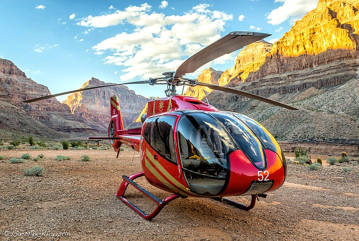 Pontoon and air tours operated by Papillon Grand Canyon Helicopters at Grand Canyon West resumed tours at the Grand Canyon Nov. 19. (Photo/Papillon Helicopters)