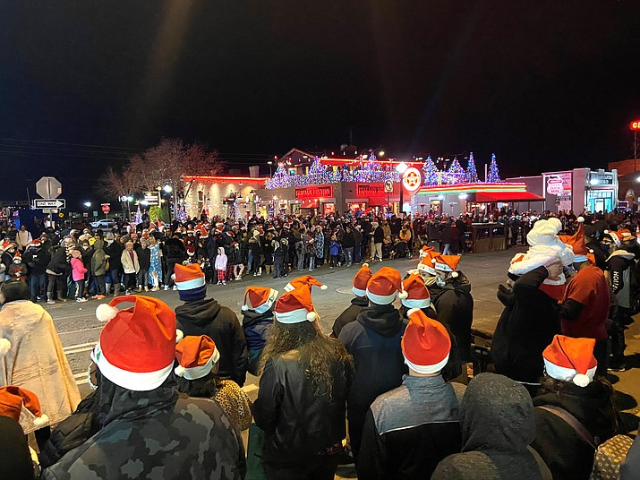 The 2020 Williams Parade of Lights. (Wendy Howell/WGCN)