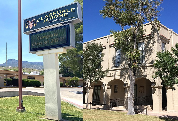 Both the Clarkdale-Jereome and Cottonwood-Oak Creek school districts have opted for a return to exclusive online education as a result of escalating COVID-19 cases locally. VVN file photos