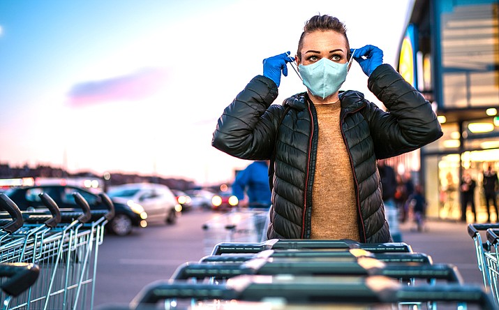 """The Mayo Clinic urges people to not believe the myth that fabric masks don't protect yourself or others from COVID-19. """"Simply put, wearing a cloth mask helps decrease the spread of COVID-19."""" the Mayo Clinic states on its website. Adobe stock image"""