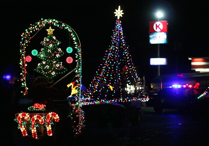 Camp Verde Parks and Recreation canceled Saturday's Parade of Lights drive-thru event due to lack of participation. VVN/Bill Helm