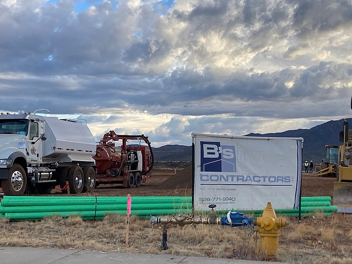 Prescott-based B's Contractors will soon start building two 5,500-square-foot residential homes for Prescott Charities on a 1-acre parcel east of Navajo Drive and south of Eastridge Drive in Prescott Valley. (Doug Cook/Courier)