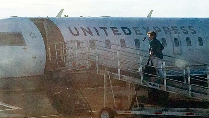 A visitor to Prescott boards a flight at the Prescott Regional Airport. (Courier file)