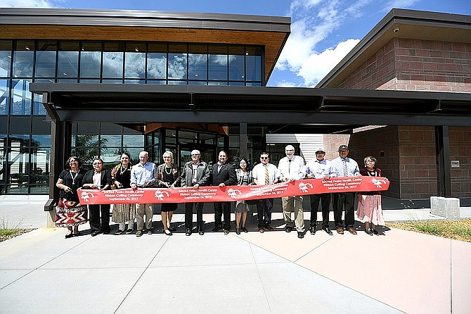 Tuba City Regional Health Care Corp. celebrated the opening of its Sacred Peaks Health Care Center in Flagstaff in 2019. Indian Health Services is preparing to distribute COVID-19 vaccines on the Navajo Nation. (Photo/Aurelia Yazzie)