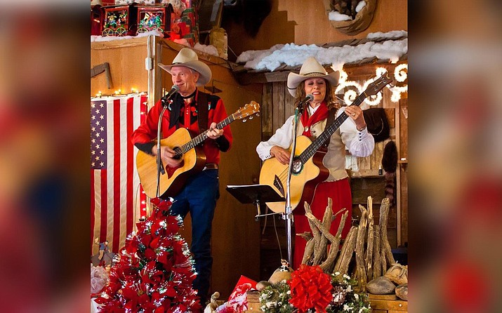 Jim and Jeanne Martin from the Blazin M Ranch will be on stage in the Sound Bites Grill Celebrity Showroom from 7-9 p.m. Dec. 19. They have performed together for over 24 years in venues across the United States and have shared the stage with such well known western stars as Michael Martin Murphey, Rex Allen Jr., Riders in the Sky, and Johnny Western.