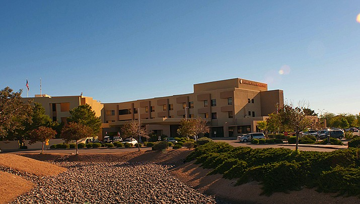 The CEO of Kingman Regional Medical Center said Monday, Dec. 21 that 96 KRMC employees have contracted COVID-19 this month, causing staffing shortages. (KRMC courtesy photo)