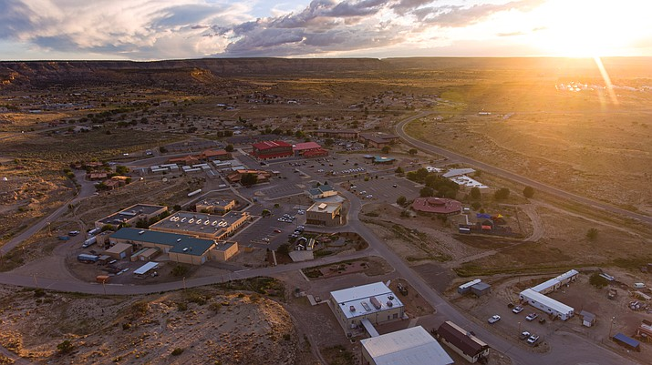Navajo Technical University's main campus is located in Crownpoint, New Mexico, but it also maintains instructional sites in Kirtland and Zuni, New Mexico and Chinle and Teec Nos Pos, Arizona. The university offers two graduate degrees, 13 baccalaureate degrees, 21 associate degrees and 23 certificates.  (Photo/NTU)