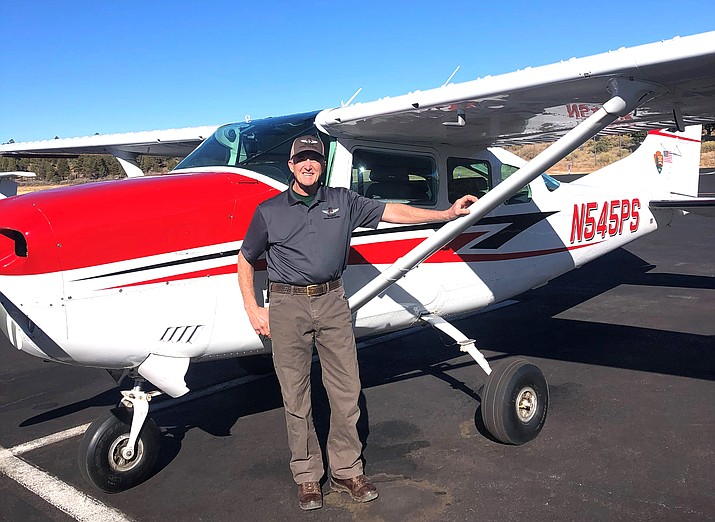 Galen Howell was selected as the 2020 NPS Aviator of the Year. Howell serves as the only fixed wing pilot for Grand Canyon National Park. (Photo/Williams-Grand Canyon News)