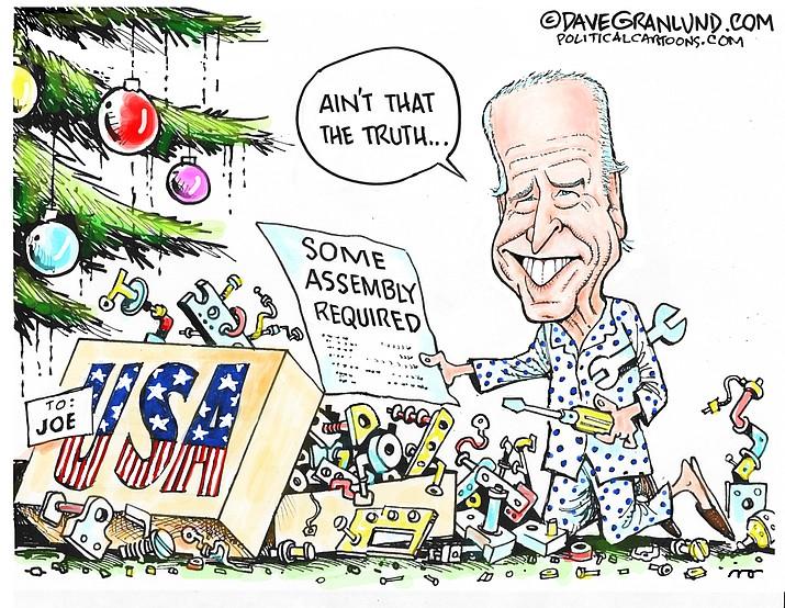 Editorial cartoon (1): Dec. 23, 2020