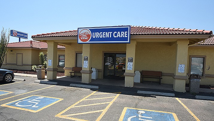 KRMC Urgent Care has reduced its hours to 8 a.m. to 5 p.m. daily so it can transfer staff to help care for hospitalized COVID-19 patients during a surge in coronavirus cases. (Courtesy photo)
