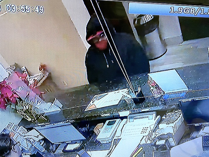 Williams Police Department is seeking information about an armed robbery that took place around 5 a.m. Dec. 24 at the Quality Inn in Williams. (Photo/Williams Police Department)